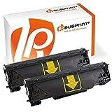 Bubprint 2 Toner kompatibel für HP CF283A 83A für Laserjet Pro MFP M125A M125NW M126A M127FN M127FW M128FN M201DW M225DN M225DW M226DN M226DW Schwarz