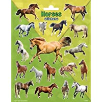 Peterkin 5080 Horses Large Stickers, Multicolour