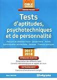 Tests d'aptitudes psychotechniques et de personnalité...