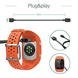 TUSITA Polar Charger M430 - USB Charging Cable 100cm - GPS Watches Accessories