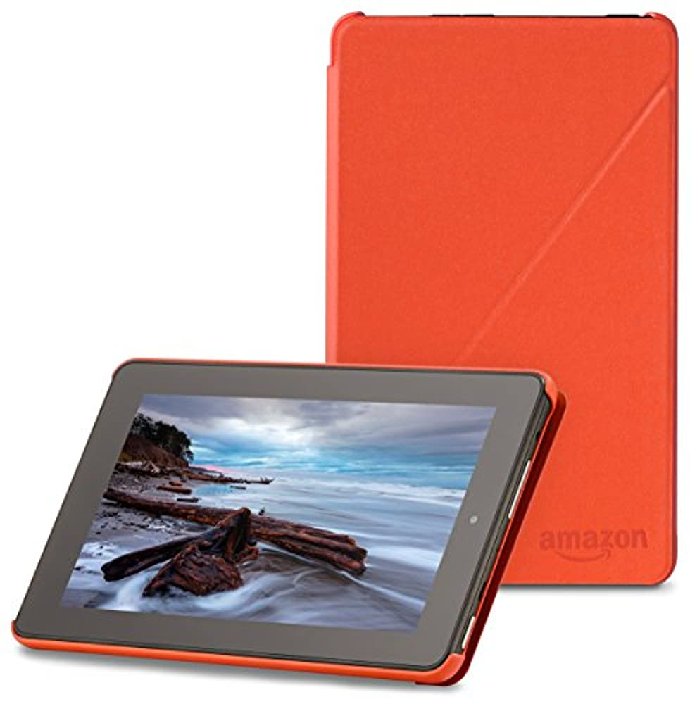 Amazon Hülle für Fire (7-Zoll-Tablet, 5. Generation - 2015 Modell), Orange