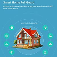 Dailyinshop NAS-DS01W WiFi Elegante Sensor de Ventana de la Puerta Plug & Play Control Remoto de la casa