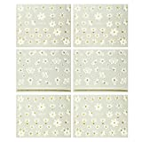 Fingernail Stickers Nail Art Nail Stickers Self Adhesive Nail Stickers 3 D Nail Decals Flowers, Hearts & Butterflies (3 Designs/6 Sheets)