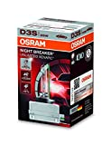 Picture Of OSRAM XENARC NIGHT BREAKER UNLIMITED D3S HID Xenon discharge bulb, discharge lamp, 66340XNB, folding carton box (1 unit) - silver/clear