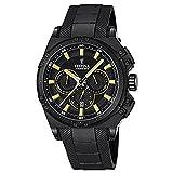 Festina Herren Chronograph Quarz Uhr mit Kautschuk Armband F16971/3