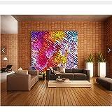 Meaosy Kundenspezifische Personalisierte Künstlerische Tapete.Farbmuster Für Wohnzimmer Schlafzimmer Tv Hintergrund