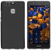 mumbi Coque de protection pour Huawei P9 TPU gel silicone noir