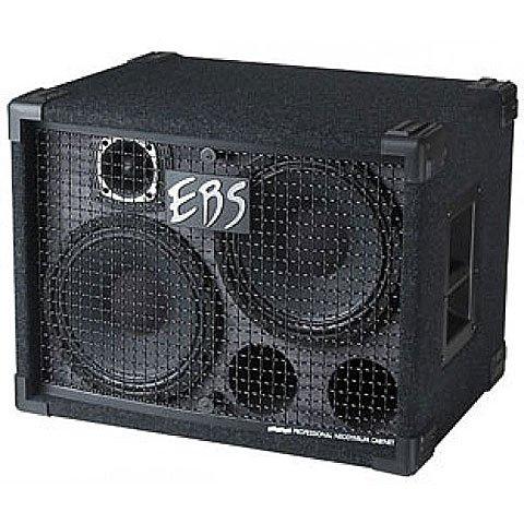 EBS EBSNEO210 NeoLine Boxen (500 Watt RMS, 2 x 10 Zoll Neodymium und 2 Zoll Titanium)