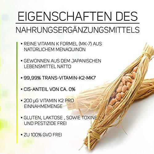 Zoom IMG-3 vitamin k2 200 g nat