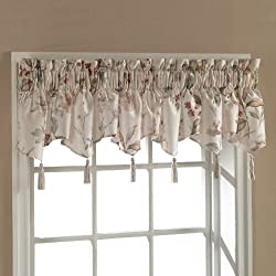 American Curtain and Home Henderson Window Treatment Valance, 54-Inch by 15-Inch, Natural