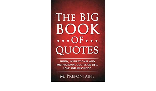 Book Of Quotes New Amazonin Buy The Big Book Of Quotes Funny Inspirational And