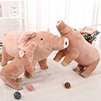 Zooarts 40cm Pink Pig Plush Soft Toy Doll Cushion Pillow
