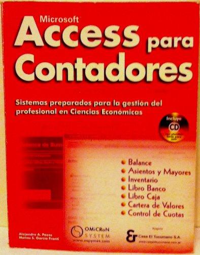 Microsoft Access Para Contadores