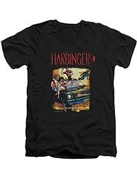Harbinger - Männer mit V-Ausschnitt T-Shirt Weinlese-