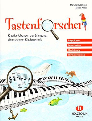 Tastenforscher – eine moderne Klavierschule für Kinder