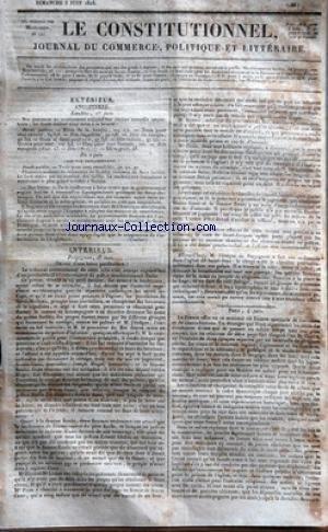 CONSTITUTIONNEL (LE) [No 156] du 05/06/1...