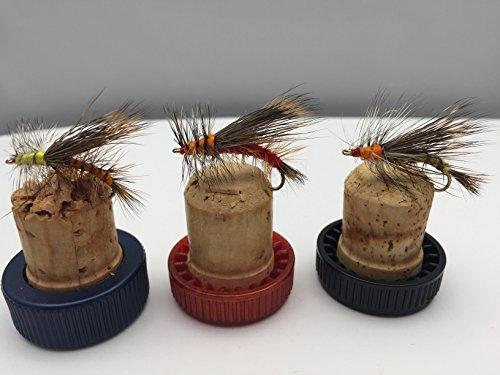 Fliegenfischen Angeln Fliegen Stimulator Trout Fly UK Größe 8-12 UK 12 Abwechslungsreiche Farben Pack # 27