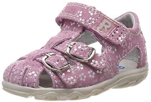 Richter Kinderschuhe Mädchen Terrino Geschlossene Sandalen, Pink (Candy/Silver), 19 EU