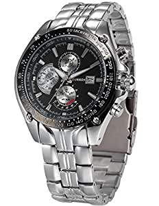 Curren Analogue Expedition Auto Date Black Dial Men's Watch - CUR021