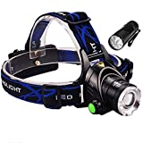 9 LED Flashlight +3 Modes Zoomable 1800 ...