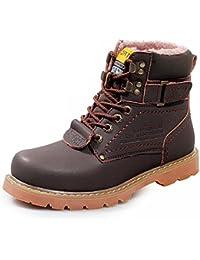 AARDIMI Winter Männer Stiefel Hochwertigen Männlichen Echtem Leder Stiefel Arbeit Sicherheit Stiefel Mode Winter Echtem Leder Arbeitsschuhe