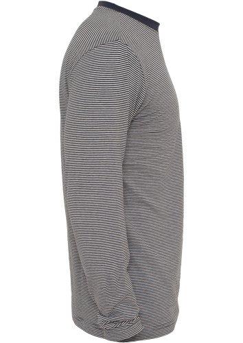 Urban Classics Hot Pants Ladies Camo Mesh Jersey Lined TB728 Blau/Weiss