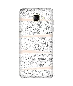 Brush Painting Back Cover Case for Samsung Galaxy A5 2016 Edition