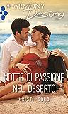 Notte di passione nel deserto (Italian Edition)