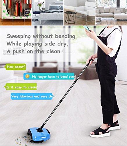 Newsbenessere.com 51BvCEv2l-L Gtt 3in 1casa pulizia sweeper- versione aggiornata telescopico Sweeping Machine Automatic Hand Push Sweeper scopa e paletta Corbeille pulizia senza elettricità