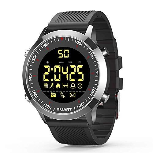 C-Xka Intelligente Uhren, Multifunktions-Wasserdichte Bluetooth-Sport-Smart-Watch-Fitness-Tracker-Smart-Watch für Männer, Frauen, die mit Android-IOS-Telefonen kompatibel sind, Langer Standby-Modus