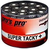Overgrip Super Tacky Tape 60er schwarz Tennis