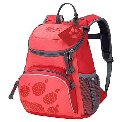 Jack Wolfskin Unisex - Kinder Rucksack Little Joe, red fire, 31 x 26 x 23 cm, 11 liters, 26221