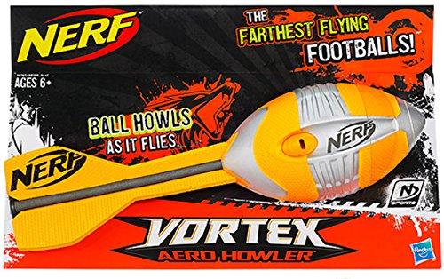 Nerf Vortex MB Pfeifen Fußball Aero Brüllaffe trendige Fun Schaumstoff Gummi Sport Spielzeug