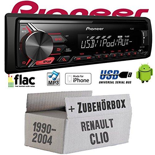 renault-clio-1-2-pioneer-mvh-190ui-mp3-usb-spotify-fur-iphone-autoradio-einbauset