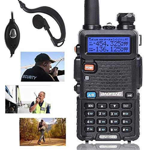 Lychee Walkie Talkie FM Radio Professionale UV-5R Dual Band Ricetrasmittente UHF/VHF per...