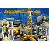 Playmobil - Obra de construcción, puzzle, 100 piezas (Schmidt 07368)