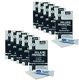 10x Blue Magic PVC Reparatur-Set Kleber und Flicken für Wasserbett, Pool, Planschbecken,...