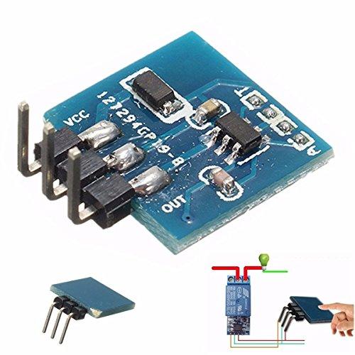 Bluelover 5Pcs Ttp223B Digital-Touch-Sensor Kapazitives Noten-Schalter-Modul F¨¹r Arduino