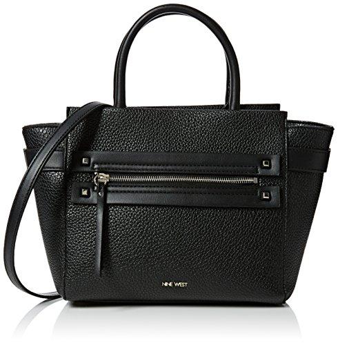 nine-west-womens-get-poppin-satchel-md-top-handle-bag-black-black