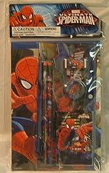 Spiderman 7 Piece Sketchbook Set.