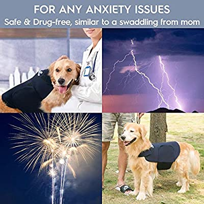 Eagloo dog anxiety coat by HOMEIN CO.,LTD