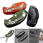 CAMTOA Folding Key Holder, Foldable K...