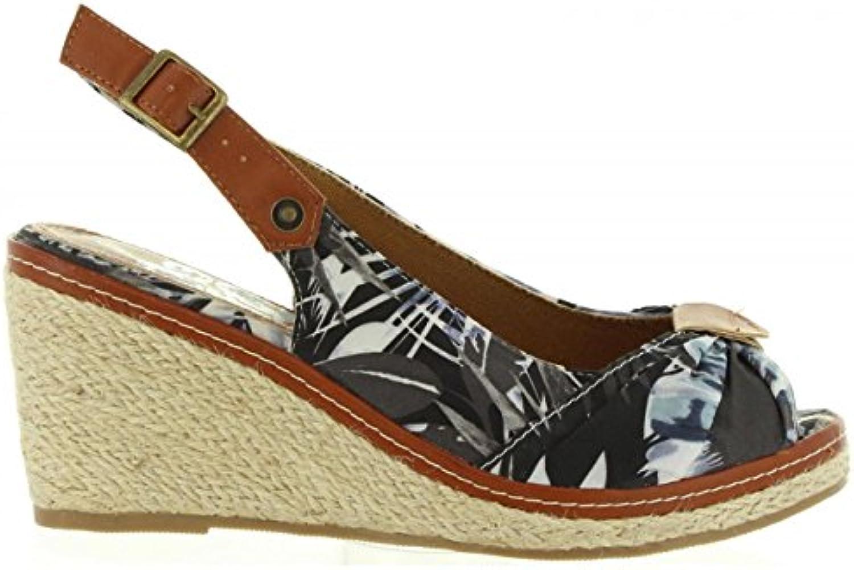 Refresh Chaussures compensées pour Femme 63397 NegroB0739JTXB5Parent Textil NegroB0739JTXB5Parent 63397 c35dbd