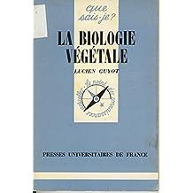 La biologie végétale