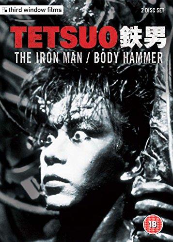 Tetsuo-The-Iron-Man-Tetsuo-2-Body-Hammer-Double-Disc-Set-DVD