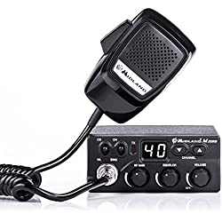 Midland C1169.01 M Zero Plus Radio CB Negro
