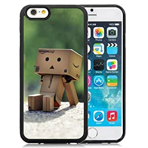 6 Phone cases, Danboard Boes Robot Sun Warm Sit Black iPhone 6 4.7 inch TPU cell phone case