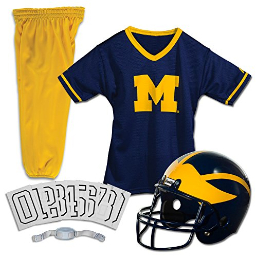 Franklin Sports NCAA Deluxe Youth Team Uniform - Wolverine Kostüm Deluxe