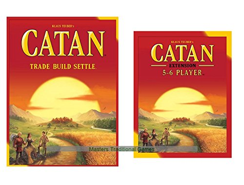 Catan Bundle of Main Game With 5-6 Player Expansion
