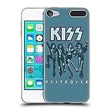 Head Case Designs Offizielle Kiss Destroyer Blau Gruppe Soft Gel Hülle für Apple iPod Touch 6G 6th Gen